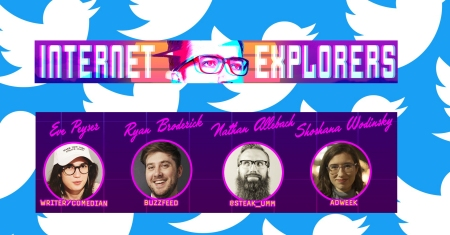 "Mark Vigeant's ""Internet Explorers: Twitter"""