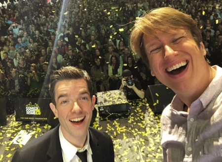 John Mulaney and Pete Holmes