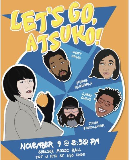 """""""Let's Go, Atsuko!"""""""