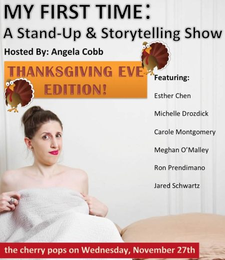 My First Time: A Stand-Up and Storytelling Show