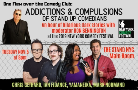 One Flew Over the Comedy Club: Addictions and Compulsions of Stand-Ups