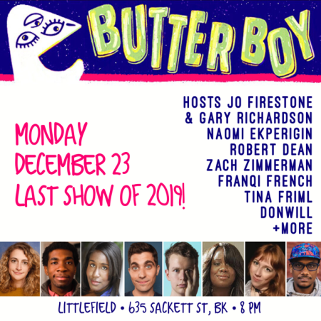 """Butterboy Comedy"""