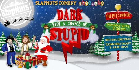 "Sloan Brettholtz & Julie Tran: ""Dark With a Chance of Stupid"""