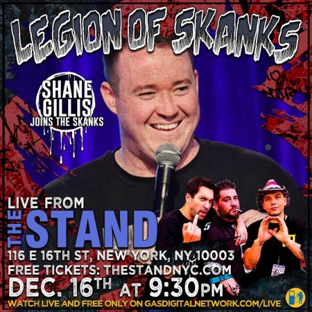 "Big Jay Oakerson, Dave Smith, and Luis J. Gomez: ""Legion of Skanks"""