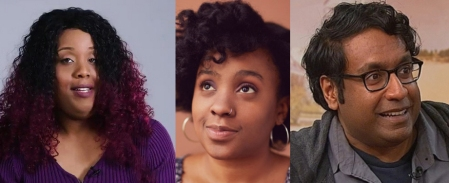 Sharron Paul, Chanel Ali, and Hari Kondabolu