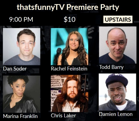 @thatsfunny TV Premiere Party & Stand-Up Show