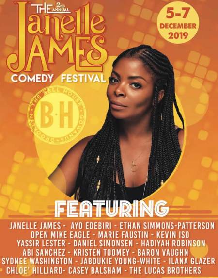 The 2nd Annual Janelle James Comedy Festival