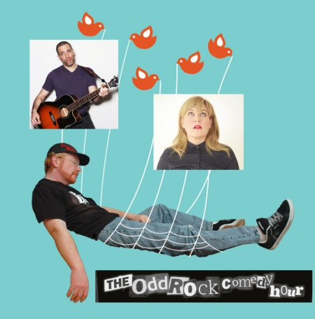 "Rob Paravonian, Shauna Lane, and Devo Spice: ""The Odd Rock Comedy Hour"""