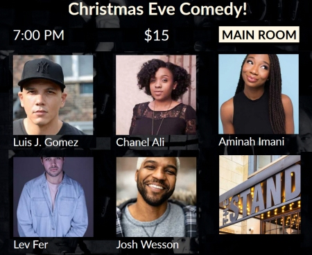 Christmas Eve Stand-Up at The Stand