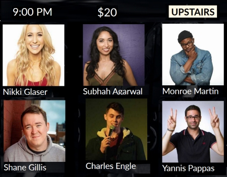 Nikki Glaser, Subhah Agarwal, and More