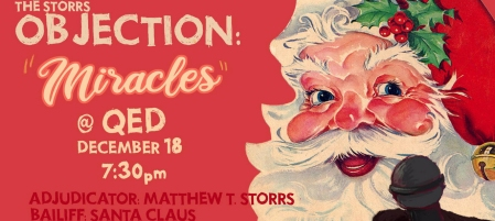 "The Storrs Objection: ""Miracles"""