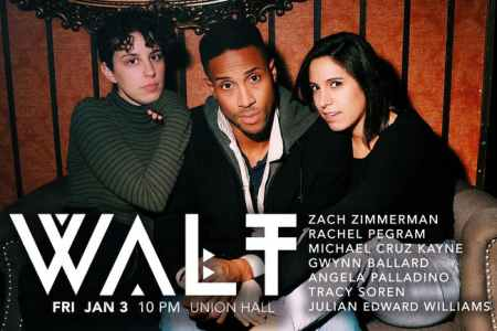 "Tracy Soren, Angela Palladino, and Julian Edward: ""WALT"""