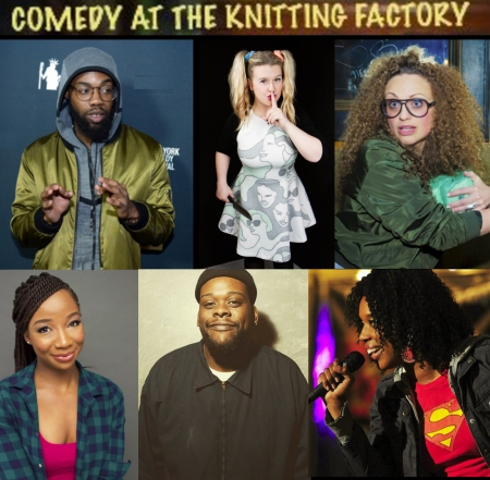 "Aminah Iman: ""Comedy Night at the Knit"""