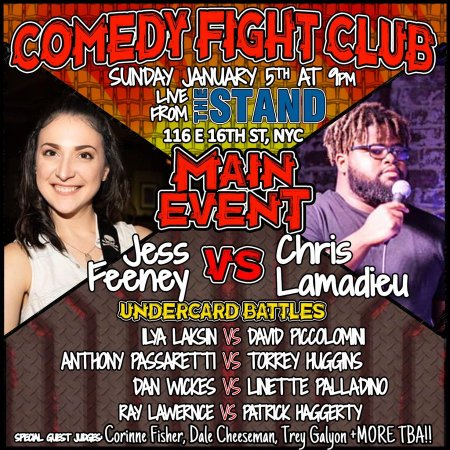 Comedy Fight Club 11