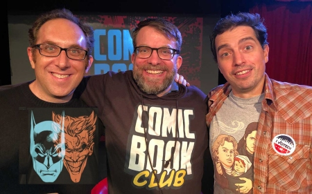 "Alex Zalben, Pete LePage, and Justin Tyler: ""Comic Book Club"""