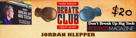 "Jordan Klepper's Debate Club: ""Should We Break Up Big Tech?"""