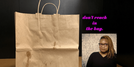"Shalewa Sharpe: ""Don't Reach in the Bag"""