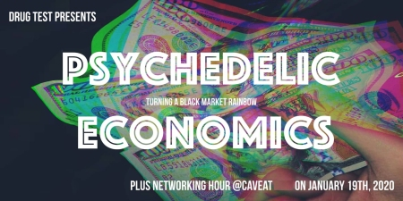 "Sarah Rose Siskind's ""Drug Test: Psychedelic Economics & Networking Hour"""