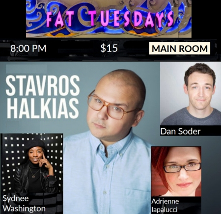 "Stavros Halkias: ""Fat Tuesdays"""