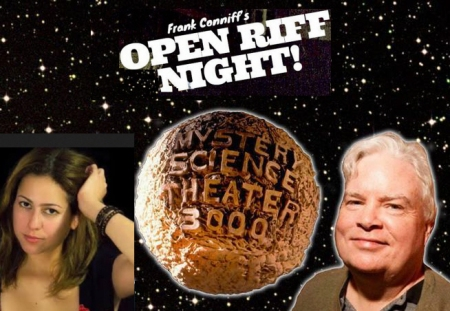 "Carolina Hidalgo & Frank Conniff: ""Open Riff Night"""