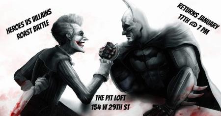 Heroes Vs. Villains Roast Battle