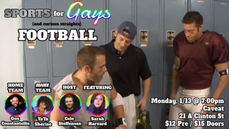 Sports For Gays (and Curious Straights): Football