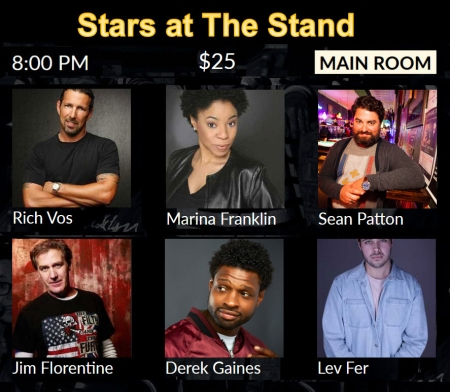 Stars at The Stand 1-17-20