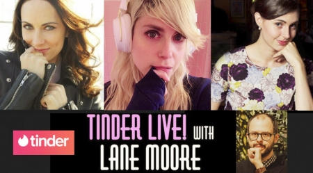 "Jennifer Wright, Lane Moore, Laura Benanti, and Daniel Kibblesmith: ""Tinder Live"""