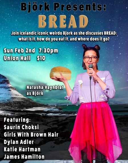 "Natasha Vaynblat: ""Björk Presents Bread"""