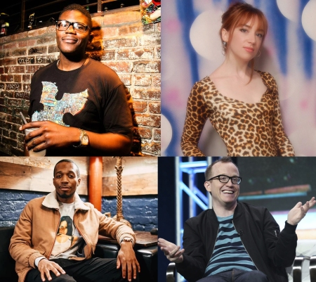 Monroe Martin, Mary Houlihan, Alex English, and Chris Gethard: