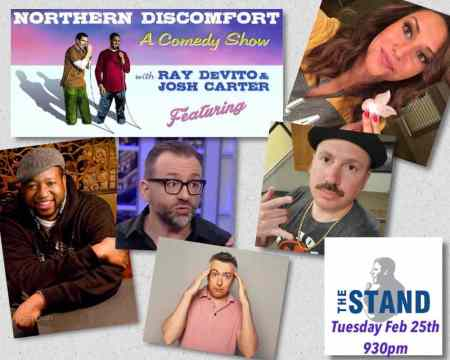 "Ray DeVito & Josh Carter: ""Northern Discomfort"""