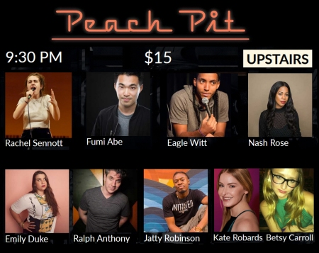 """Kate Roberts & Betsy Carroll: """"Peach Pit Comedy"""""""