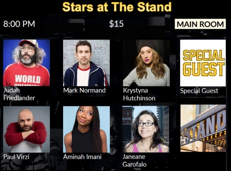 Stars at The Stand 2-10-20