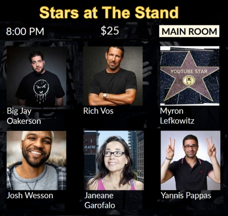 Stars at The Stand 2-15-20