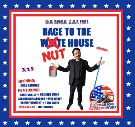 "Bardia Salimi: ""Race To The Nut House"""