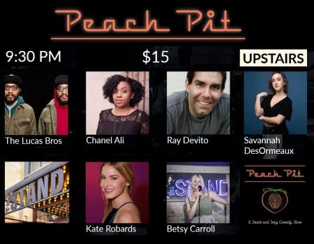 Peach Pit Comedy 3-11-20