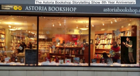 "David Lawson: ""The Astoria Bookshop Storytelling Show"""